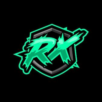 Logotipo inicial do jogo rx