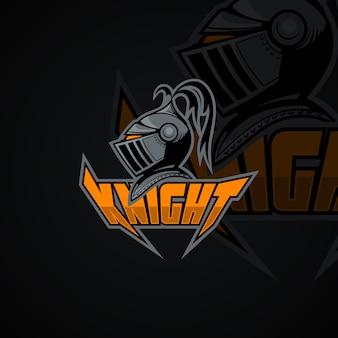 Logotipo knight. imagem vetorial de alta resolução