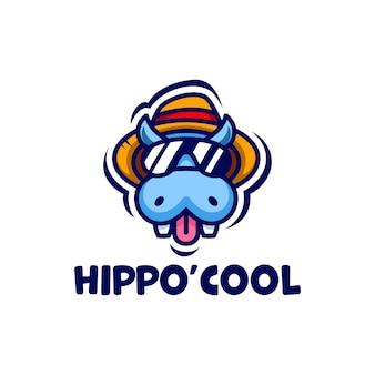 Logotipo legal do hipopótamo