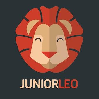 Logotipo leo júnior