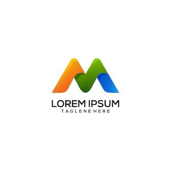 Logotipo m colorido