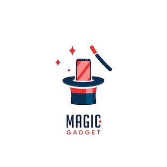 Logotipo mágico gadget