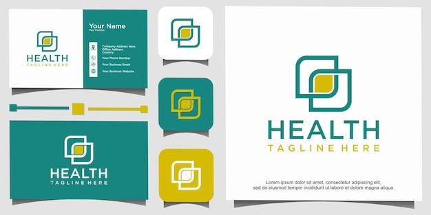 Logotipo médico abstrato