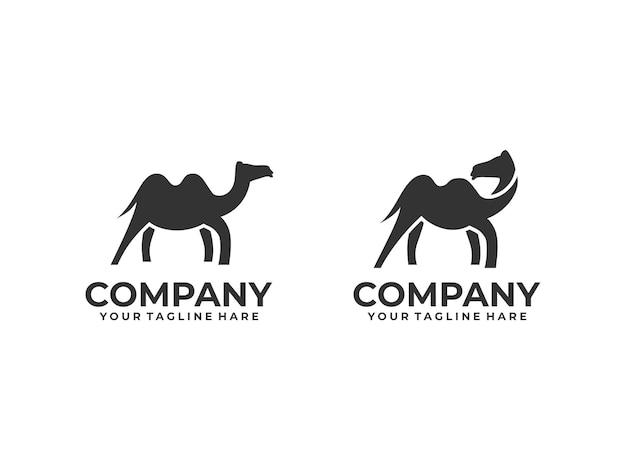 Logotipo minimalista do camelo