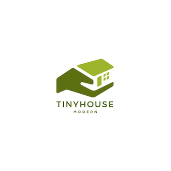 Logotipo minúsculo da casa