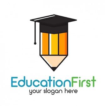 Logotipo modelo educação