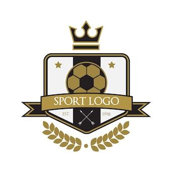 Logotipo modelo esporte