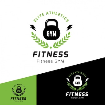 Logotipo modelo gym