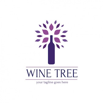 Logotipo modelo wine