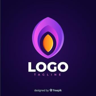 Logotipo moderno de mídia social