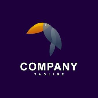 Logotipo moderno de tucano