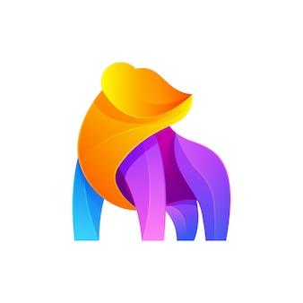 Logotipo moderno do urso