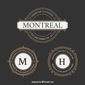 Logotipo montreal rodada