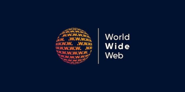 Logotipo mundial com conceito de tecnologia moderna criativa premium vector parte 2