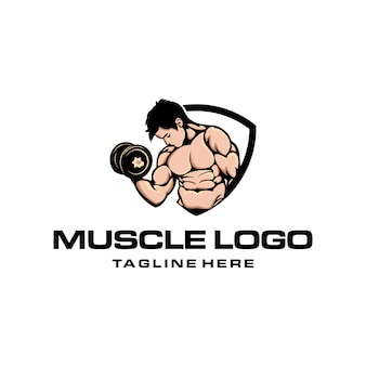 Logotipo muscular