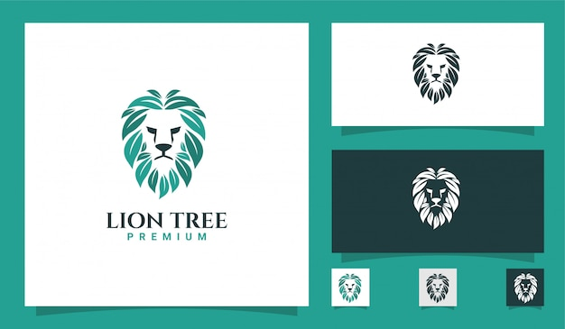 Logotipo natural do leão