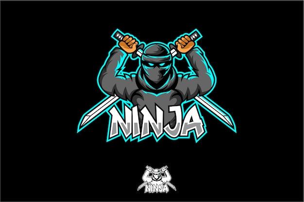 Logotipo ninja esport
