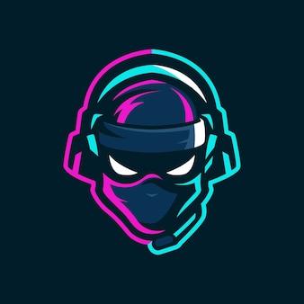 Logotipo ninja