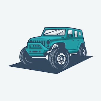 Logotipo off road
