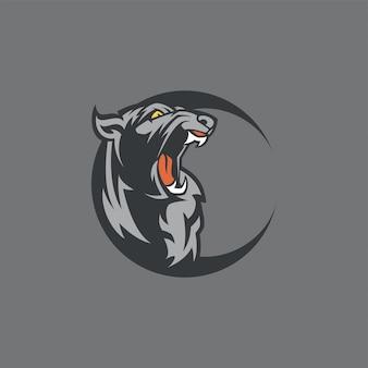 Logotipo panther e-sport