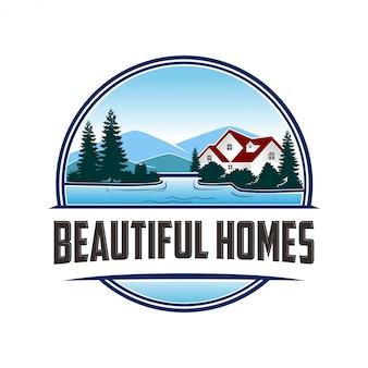 Logotipo para belas casas