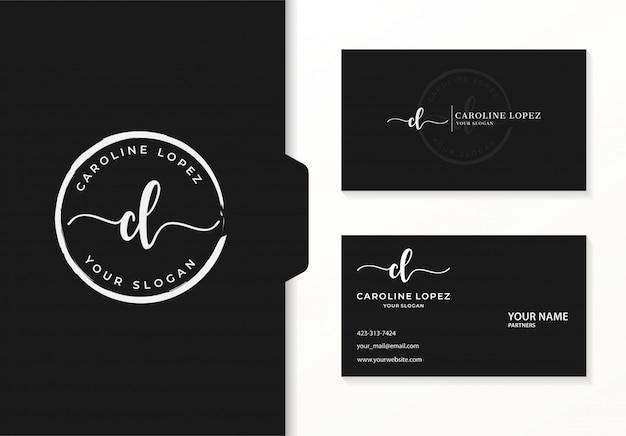 Logotipo para empresa inicial ou feminina