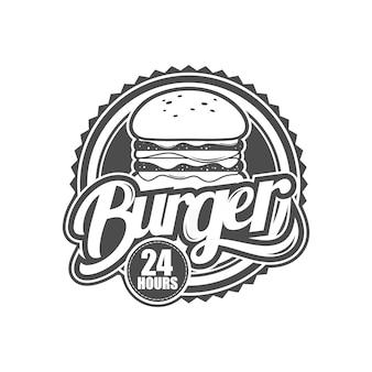 Logotipo para loja de hambúrguer