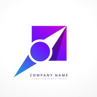 Logotipo ponteiro navegação
