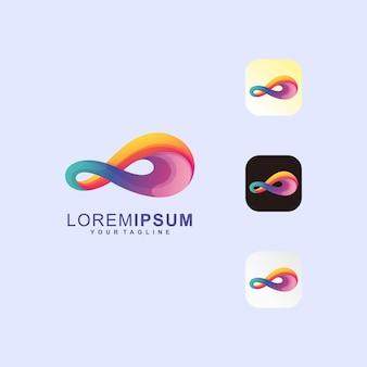 Logotipo premium awesome media premium