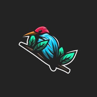 Logotipo premium bird