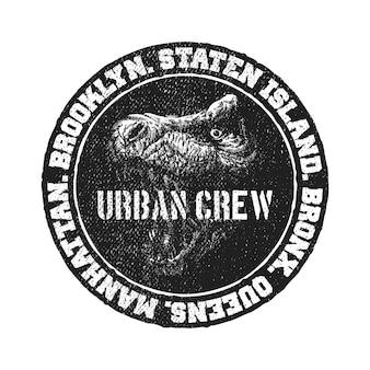 Logotipo preto e branco