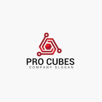 Logotipo pro cubos