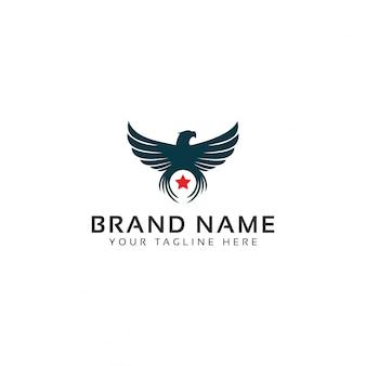 Logotipo red falcon