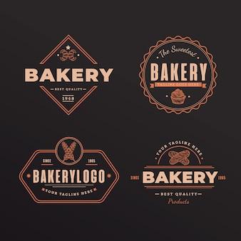 Logotipo retrô padaria