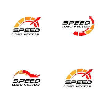Logotipo rpm de velocidade