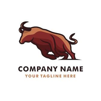 Logotipo running bull