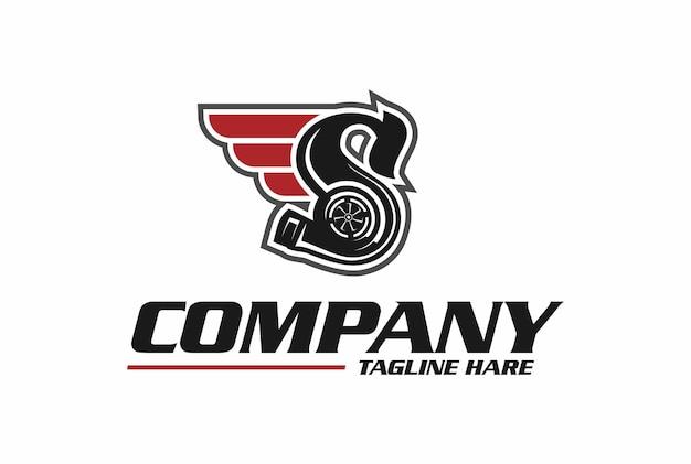 Logotipo s turbo