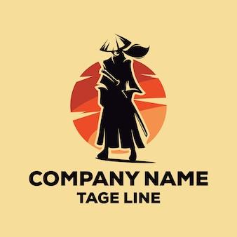 Logotipo samurai