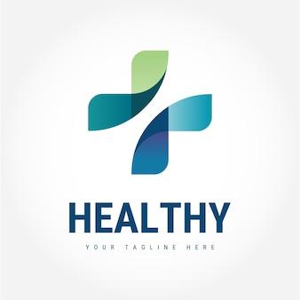 Logotipo saudável