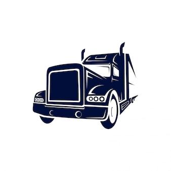 Logotipo semi caminhão