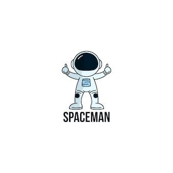 Logotipo spaceman