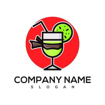 Logotipo suco de ninja
