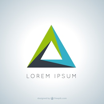 Logotipo triangular