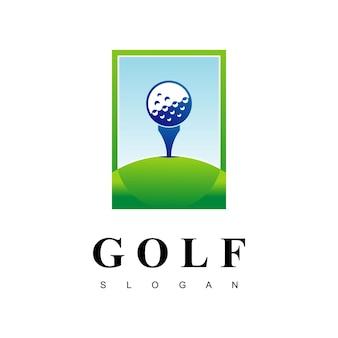 Logotipo vector golf