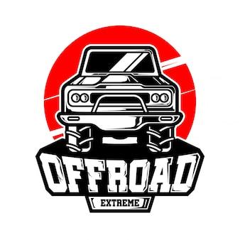 Logotipo vetor off road