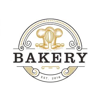 Logotipo vintage para padaria