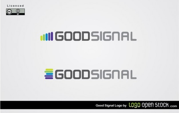 Logotipo volumen goodsignal