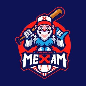 Logotipo yetti mascot