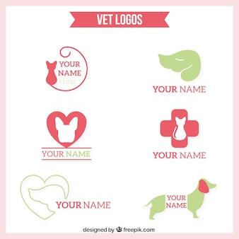 Logotipos bonitos do veterinário