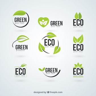 Logotipos da ecologia